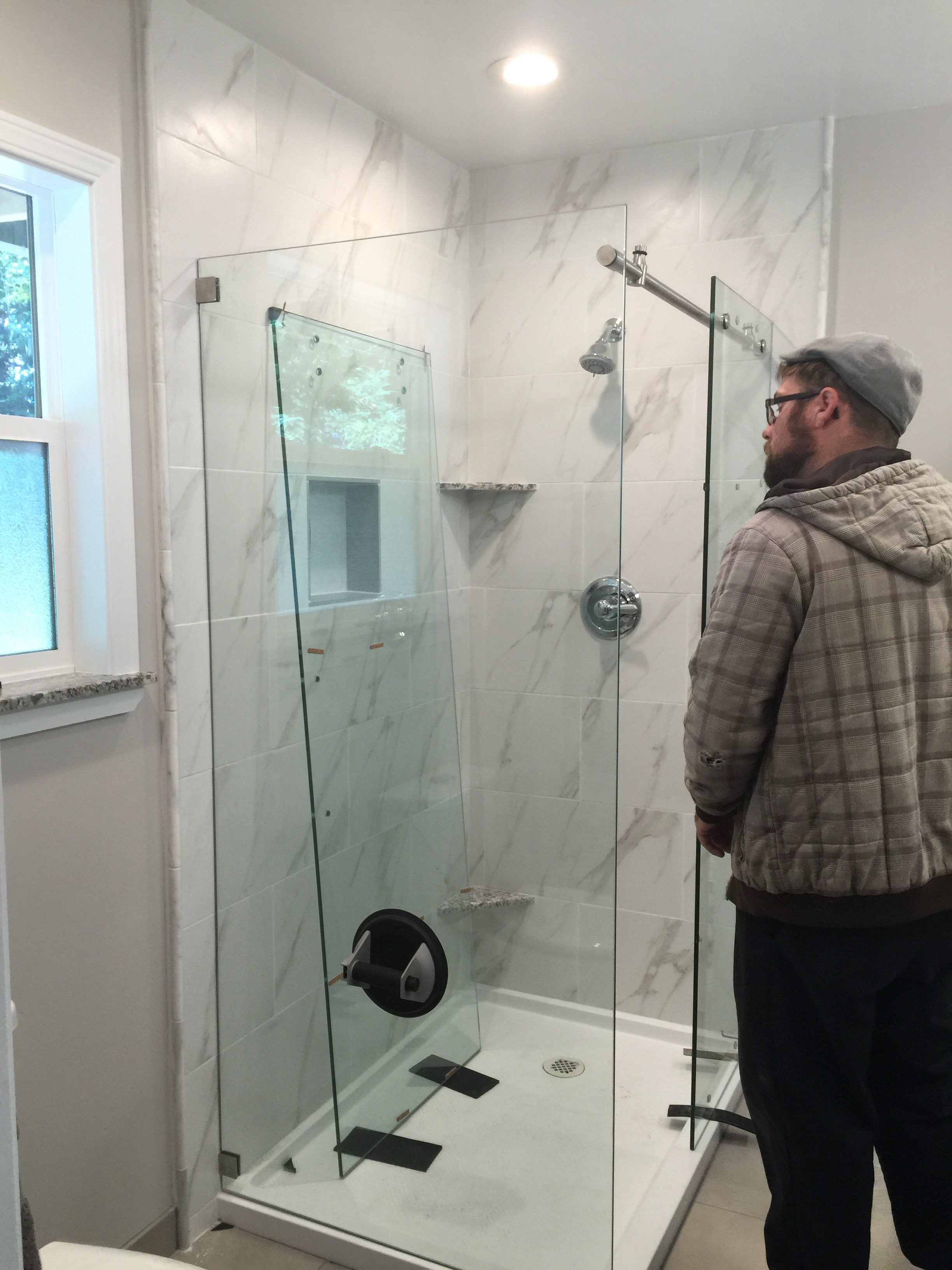 Installing customer supplied shower enclosures showcase shower door installing customer supplied shower enclosures planetlyrics Image collections