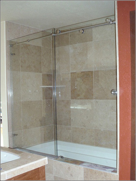 Trackless Shower Door Great Great Corner Trackless Shower